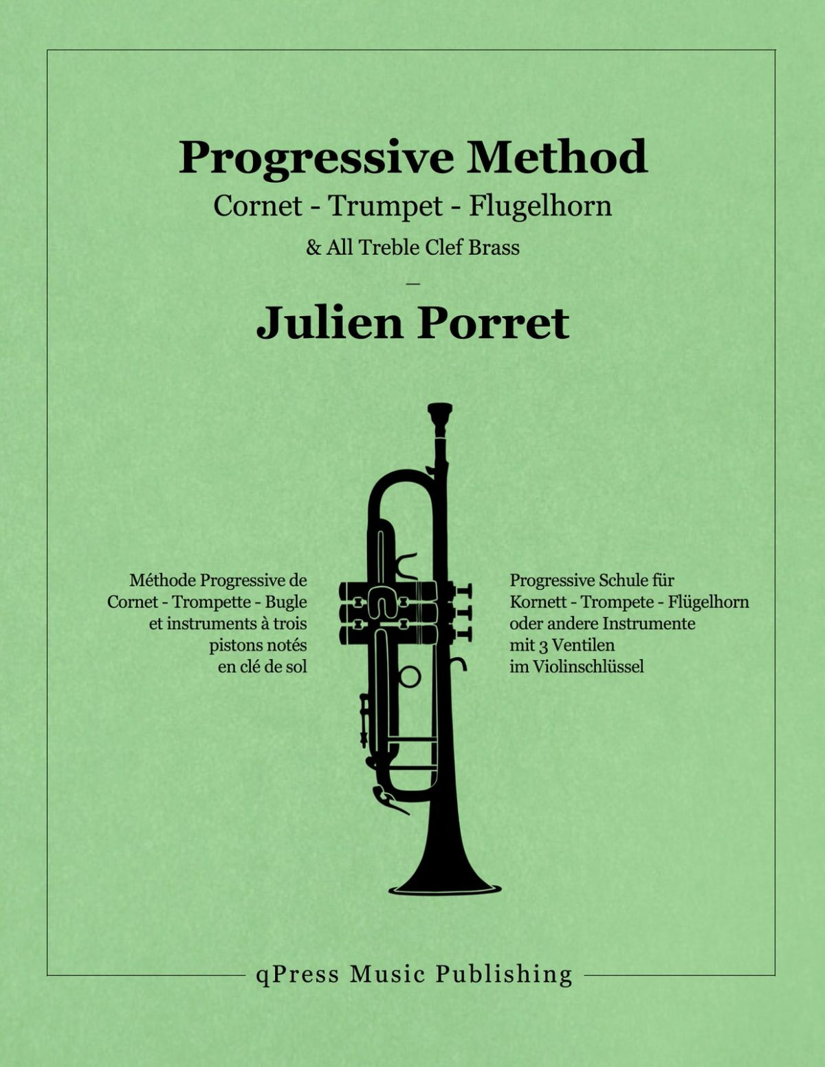 Porret, Progressive Method for Trumpet-p01
