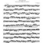 Sauveur, 20 Selected Studies for Bb Trumpet