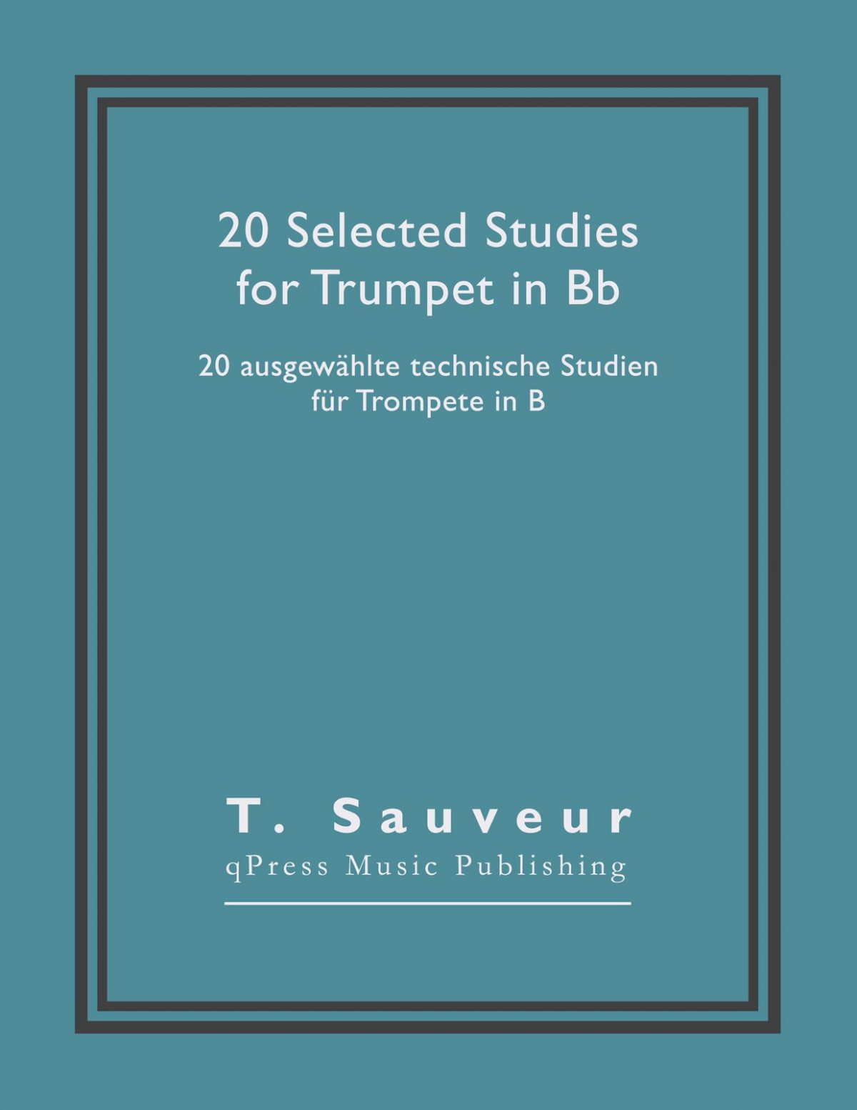 Sauveur, 20 Selected Studies for Bb Trumpet-p01