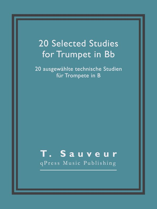 Sauveur, 20 Selected Studies for Bb Trumpet-p01