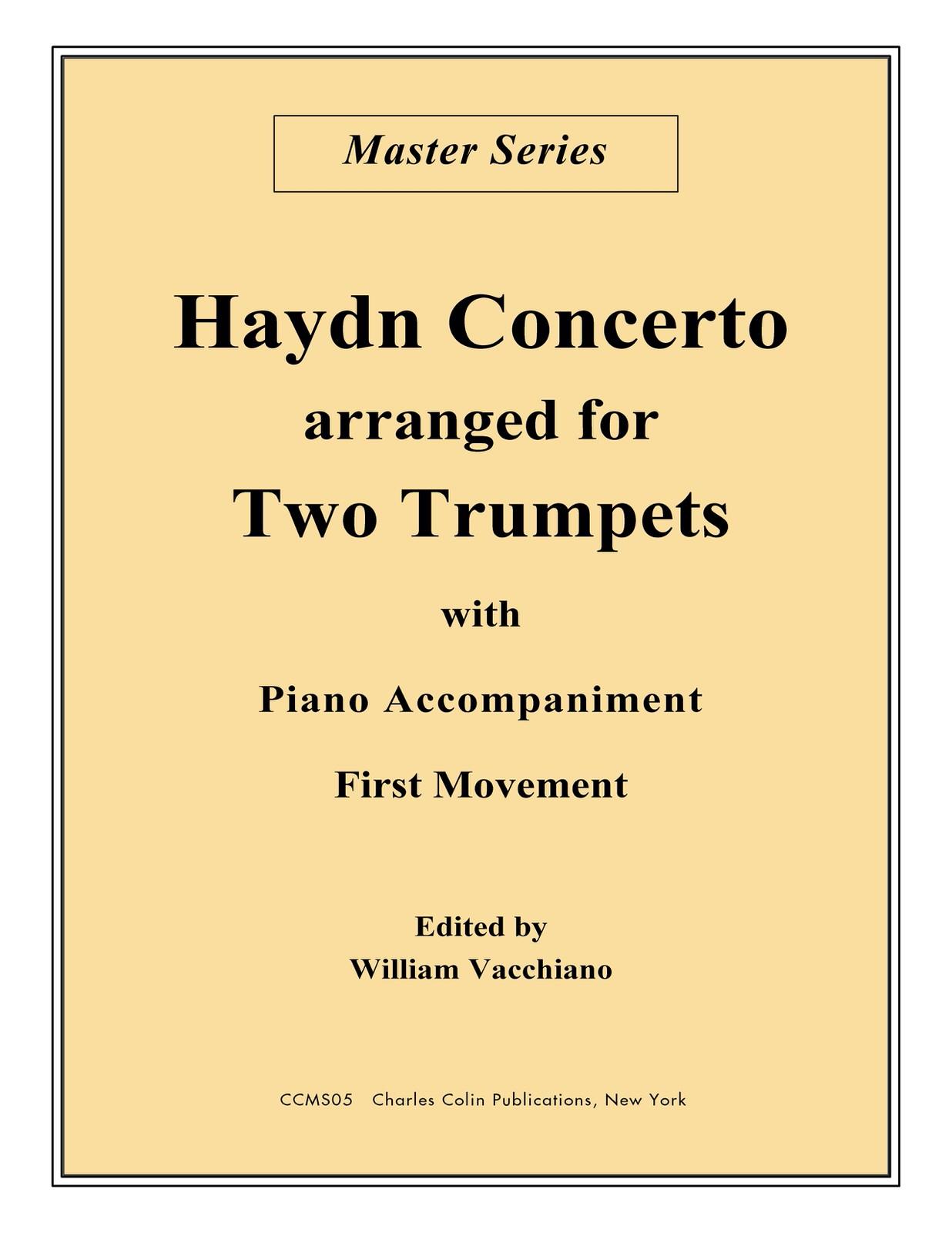 Vacchiano-Haydn, Concerto for Two Trumpets & Piano-p01
