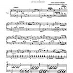 Vacchiano-Haydn, Concerto for Two Trumpets & Piano-p11