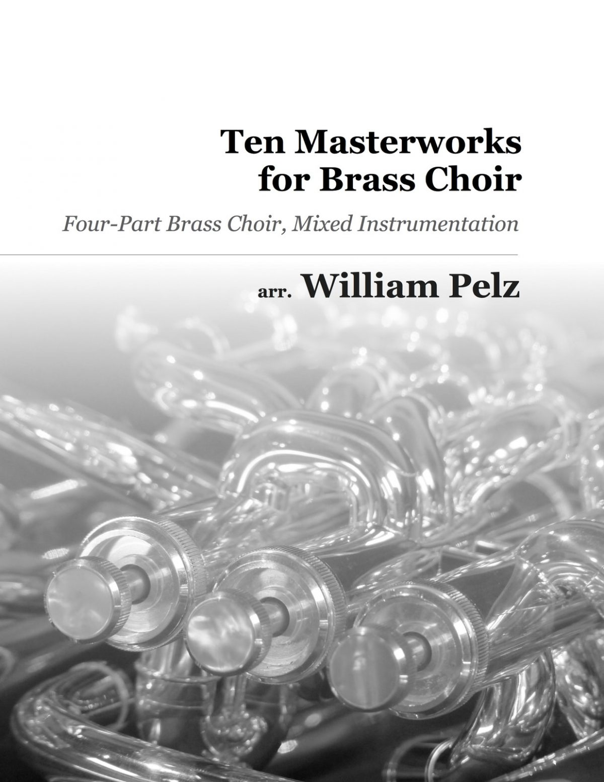 Various, Ten Masterworks for Brass Choir-p01