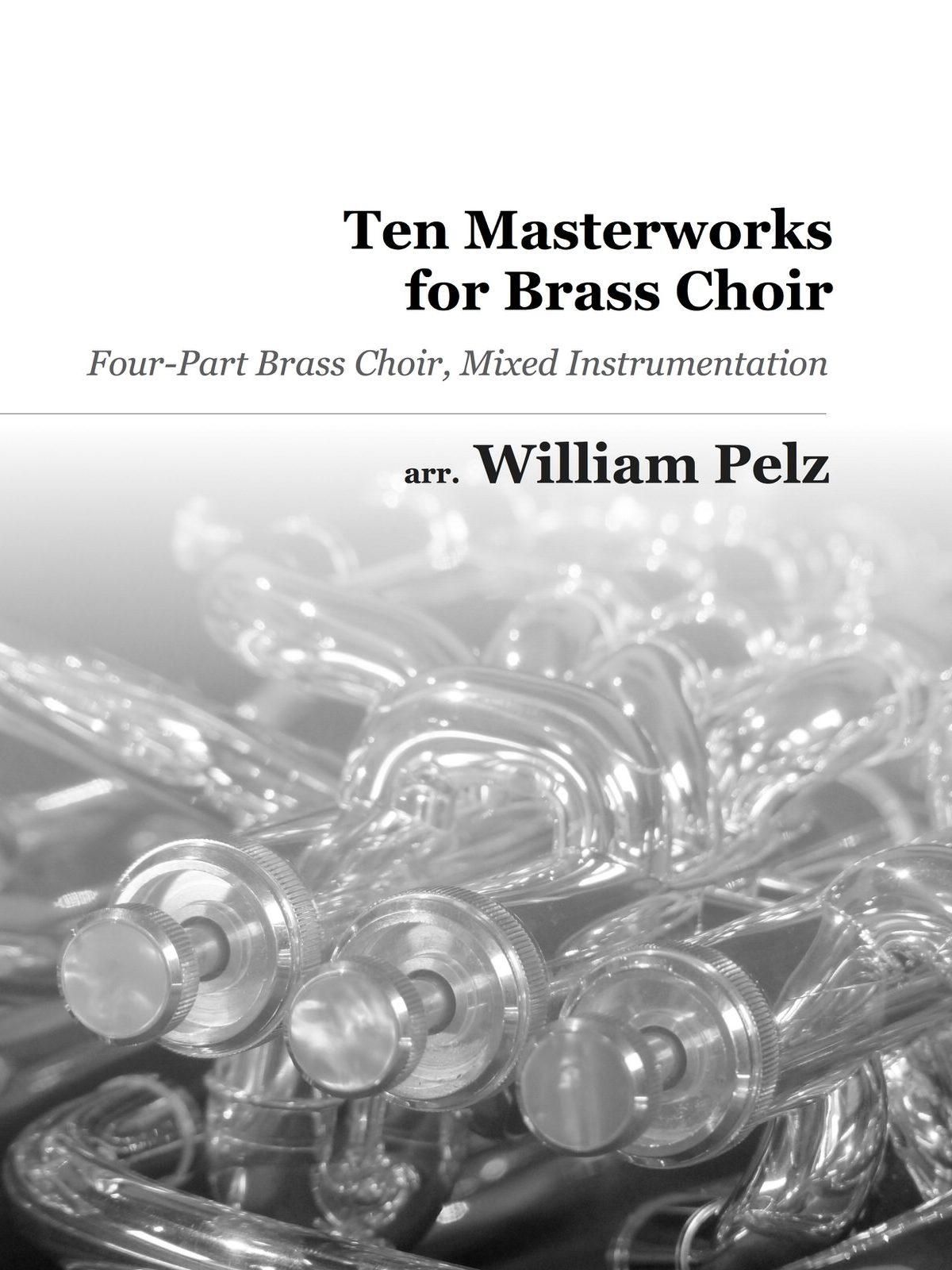 Various, Ten Masterworks for Brass Choir-p01