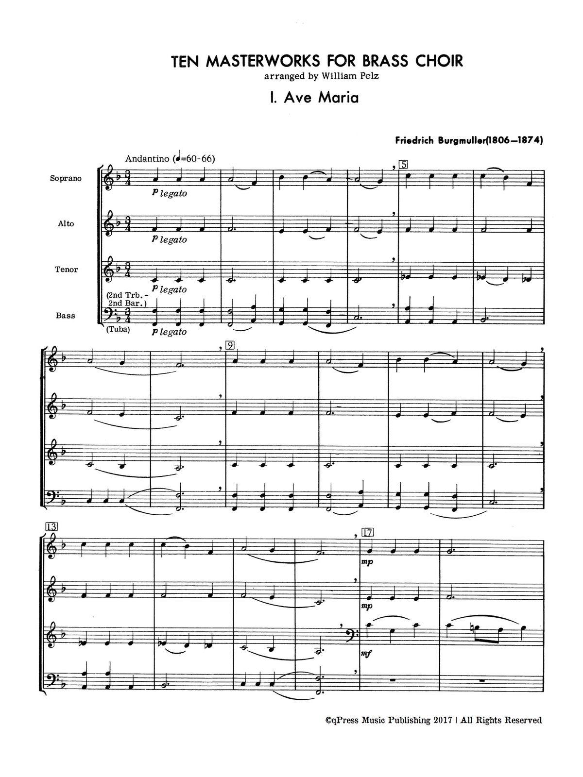 Various, Ten Masterworks for Brass Choir-p06