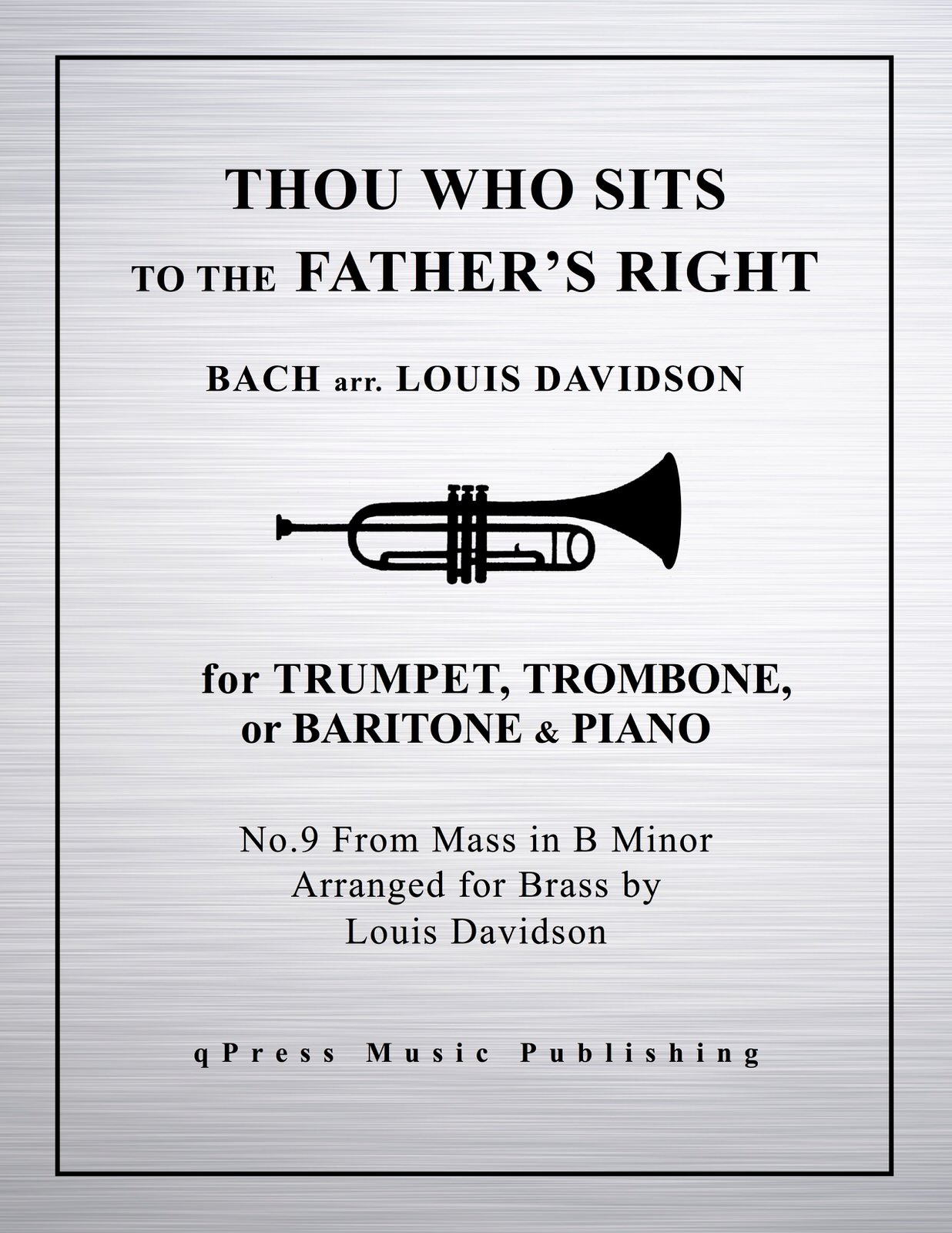 Bach, Davidson, Thou Who Sits to the Father's Right-p01