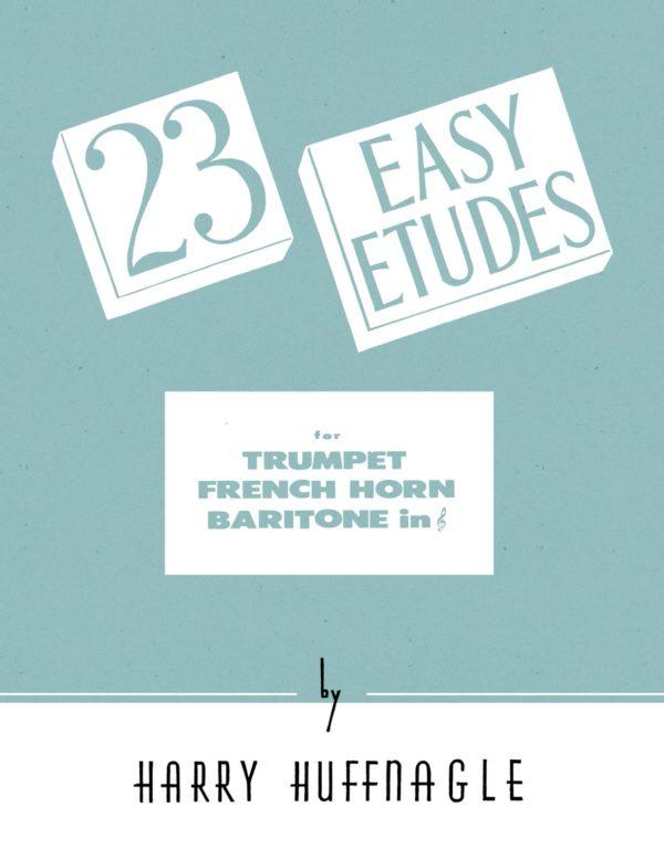 23 Easy Etudes for Trumpet