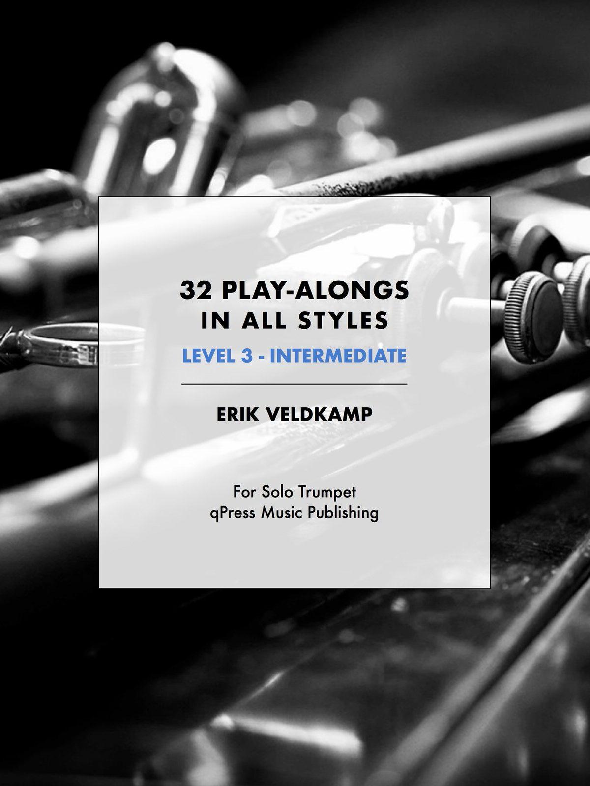 Veldkamp, 32 Play-Alongs in All Styles Level 3 (Intermediate)-p01