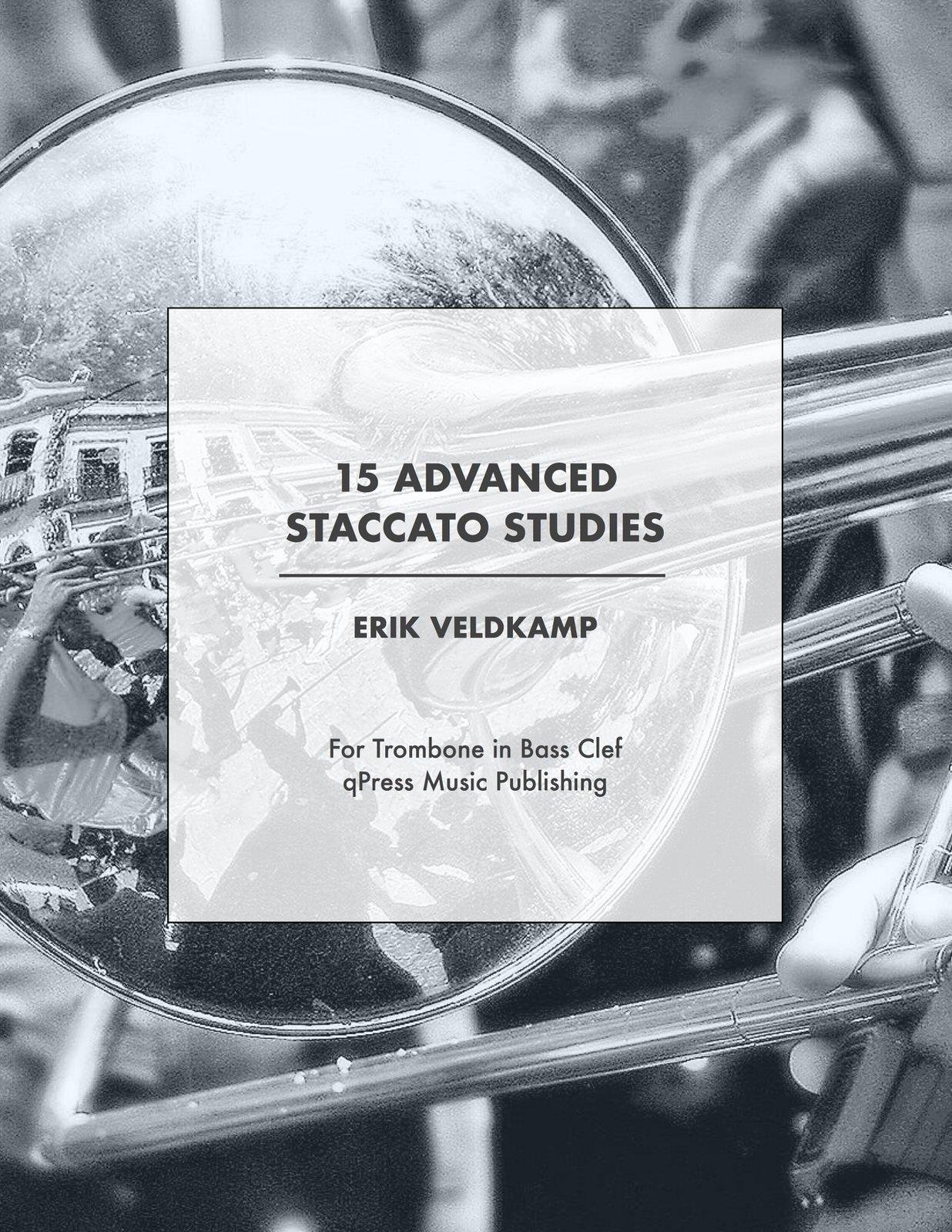 15 Advanced Staccato Studies for Trombone-p01