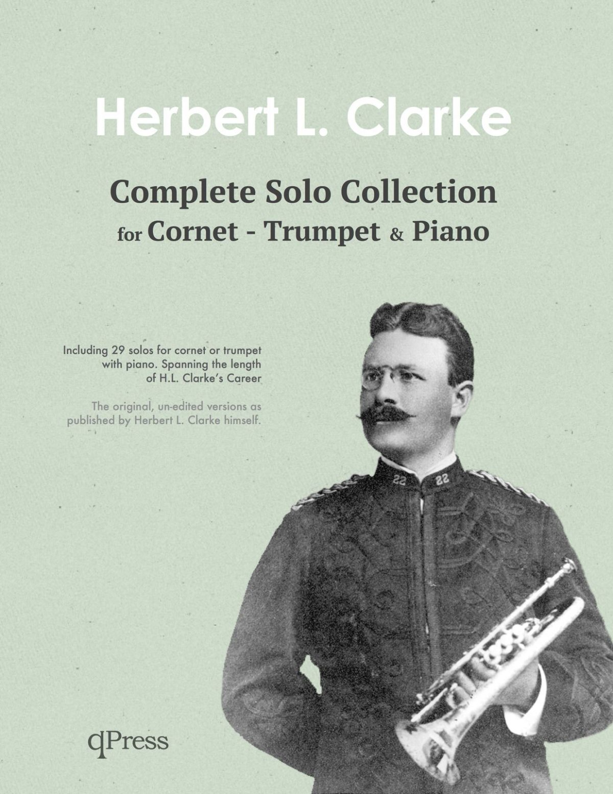 Clarke, Cornet Solo Collection (Part and Score)-p001