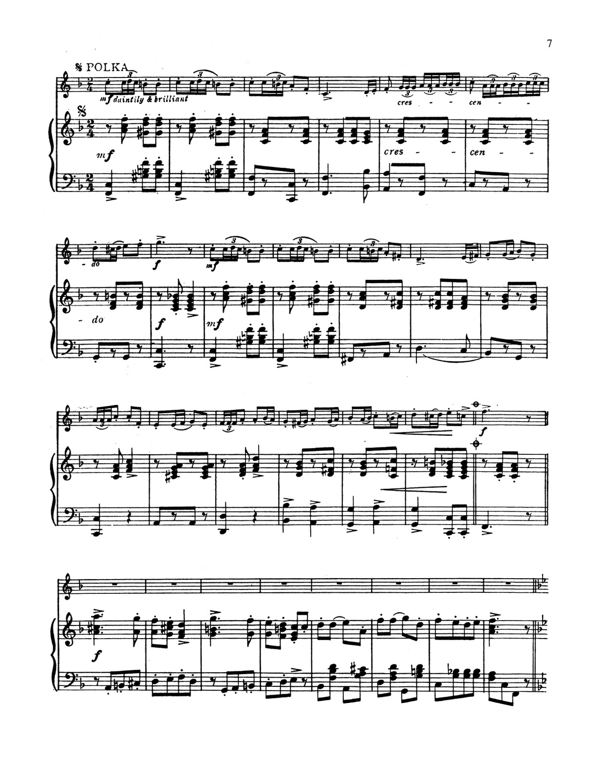 Clarke, Cornet Solo Collection (Part and Score)-p065