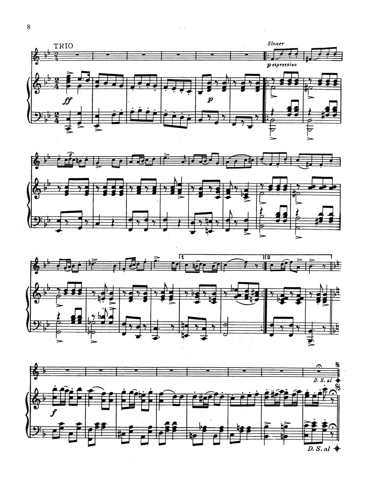 Clarke, Cornet Solo Collection (Part and Score)-p066