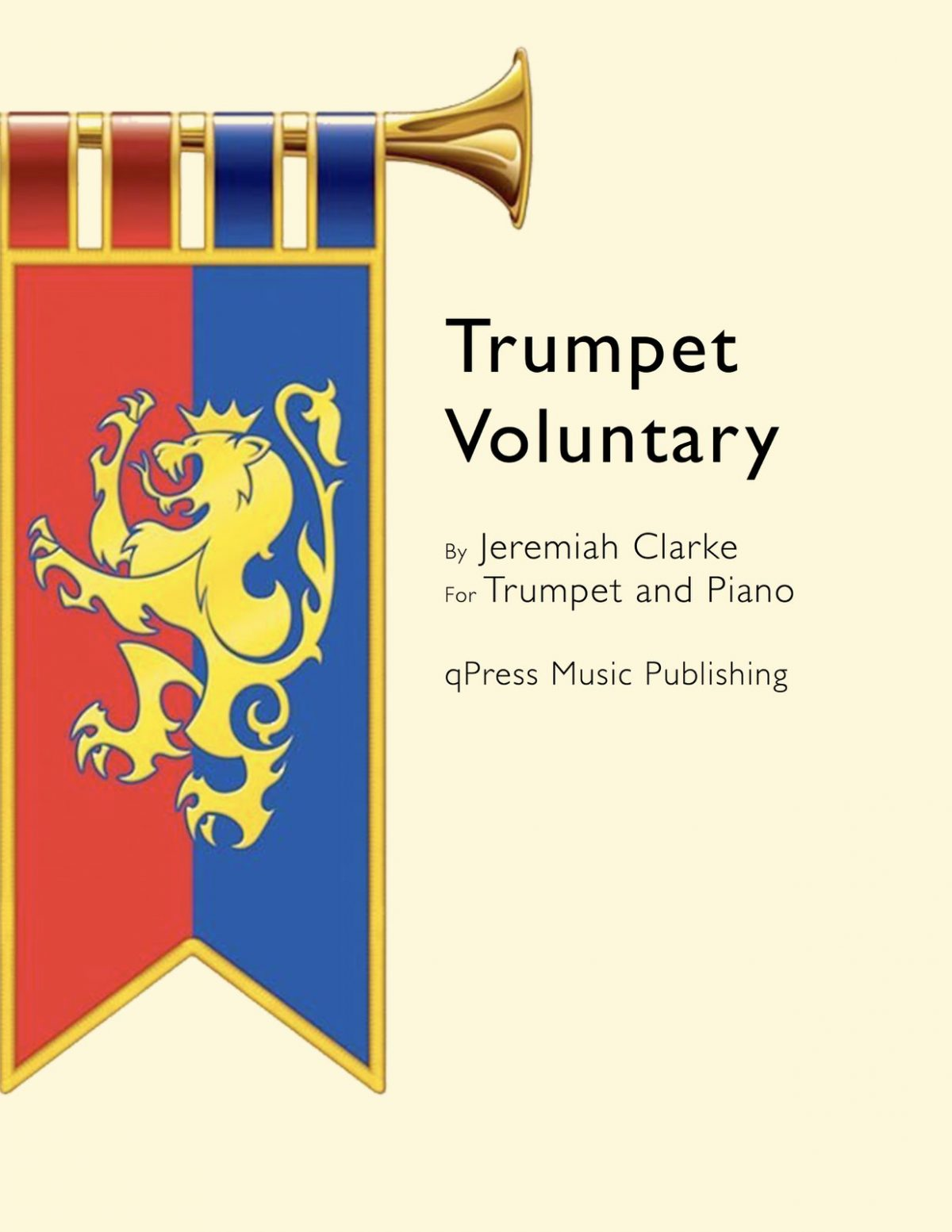 Clarke, Jeremiah, Trumpet Voluntary (Part and Score)-p1