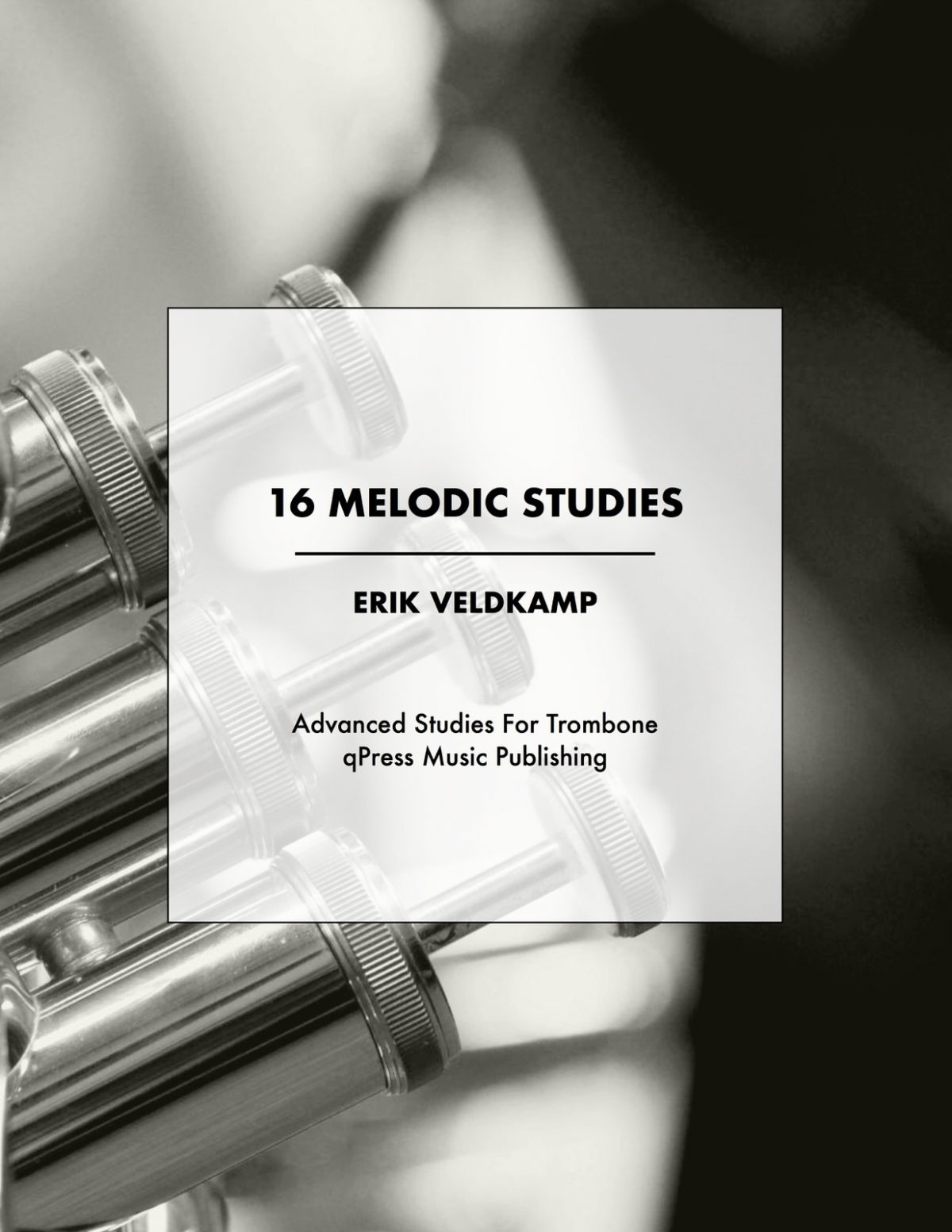 Veldkamp, 16 Melodic Studies for the Advanced Trombone Player-p01