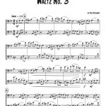 Veldkamp, Waltzing Duets for Trombone-p08