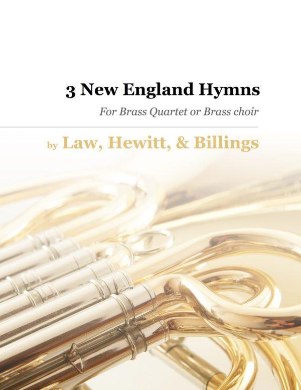 3 New England Hymns Brass Quartet