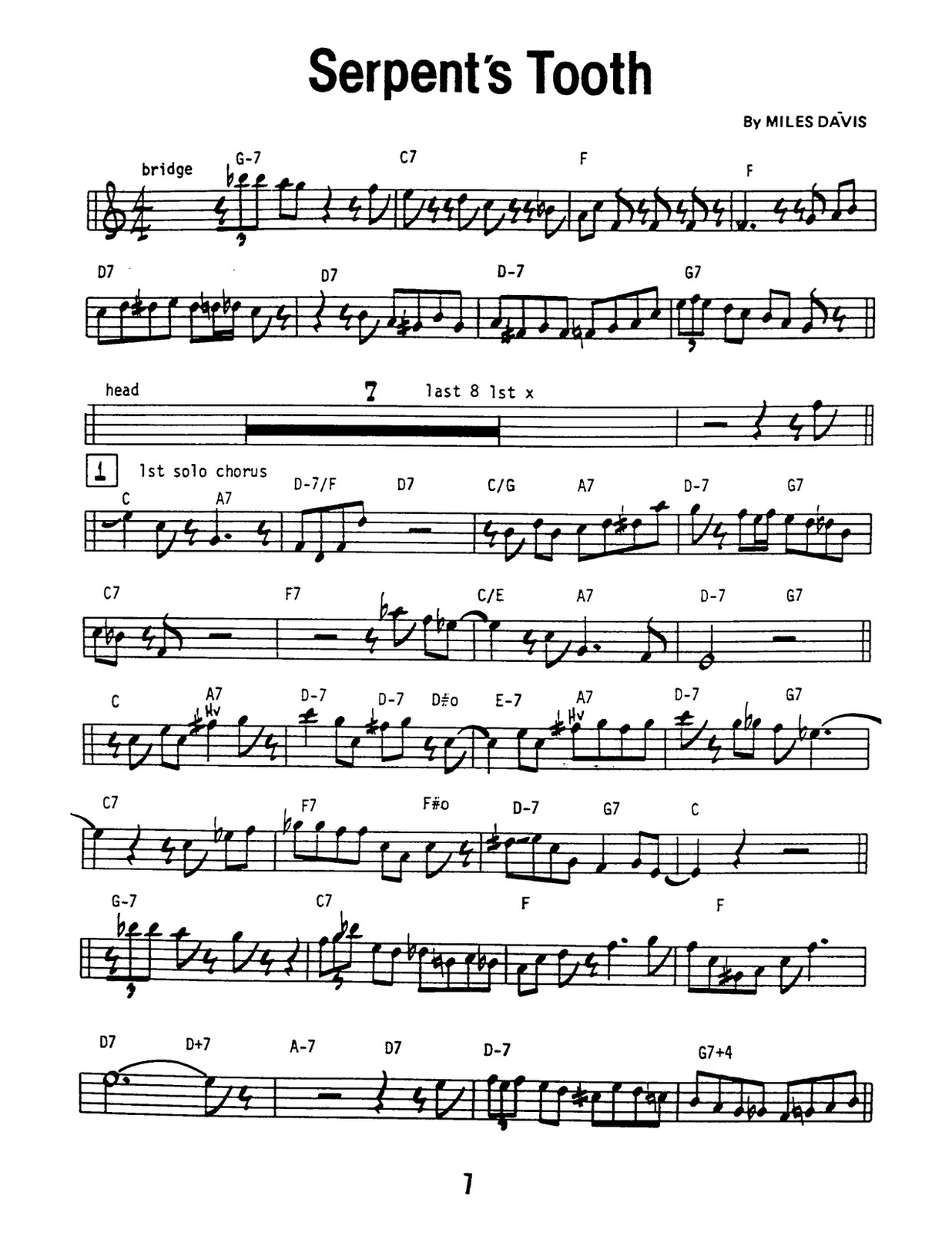 Davis, 12 Solos from the Prestige Recordings-p13