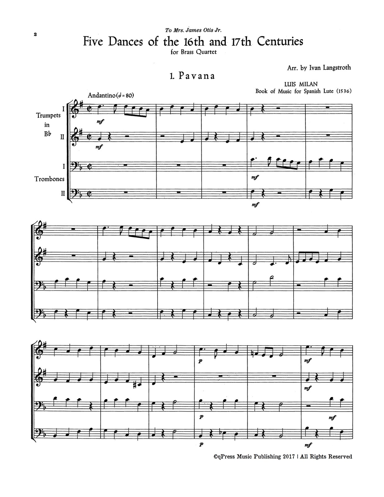 Langstroth, 5 Dances of the 16 and 17 Centuries-p02