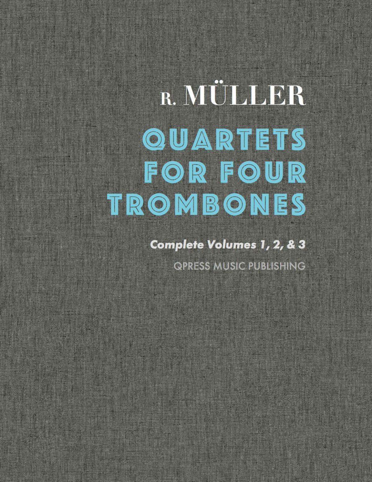 Muller, Quartets for Trombone Cover-p1