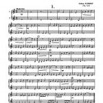 Porret, 12 Divertissements en Duos for Cornet, Trumpet, Bugle-p03