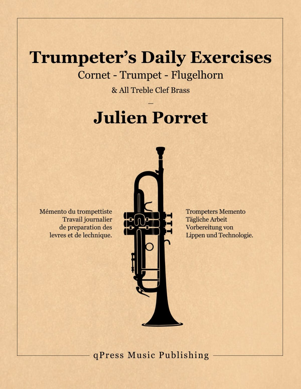 Porret, Trumpeter's Daily Exercises-p1