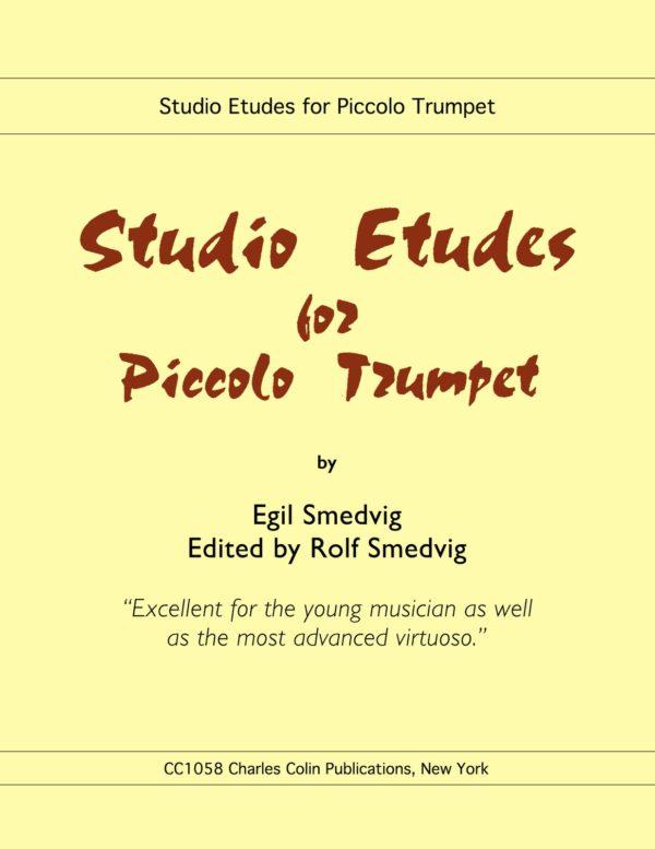 Studio Etudes for Piccolo Trumpet