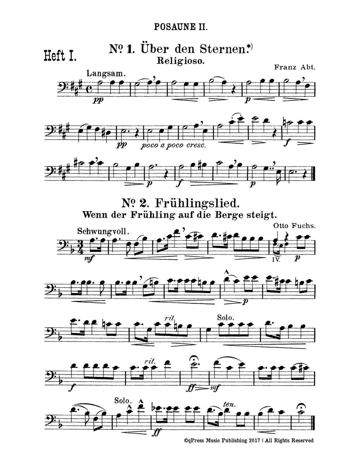 Trombone 2 Page 1