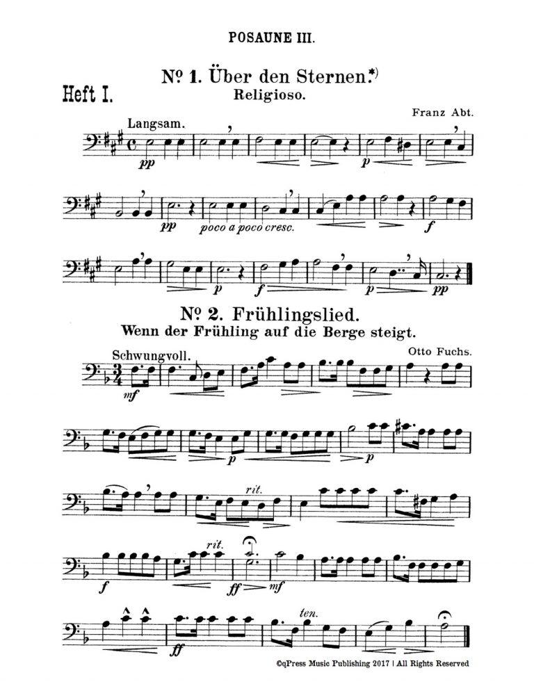 Quartets for Trombone