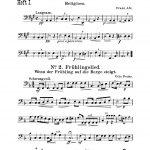 Trombone 4 Page 1
