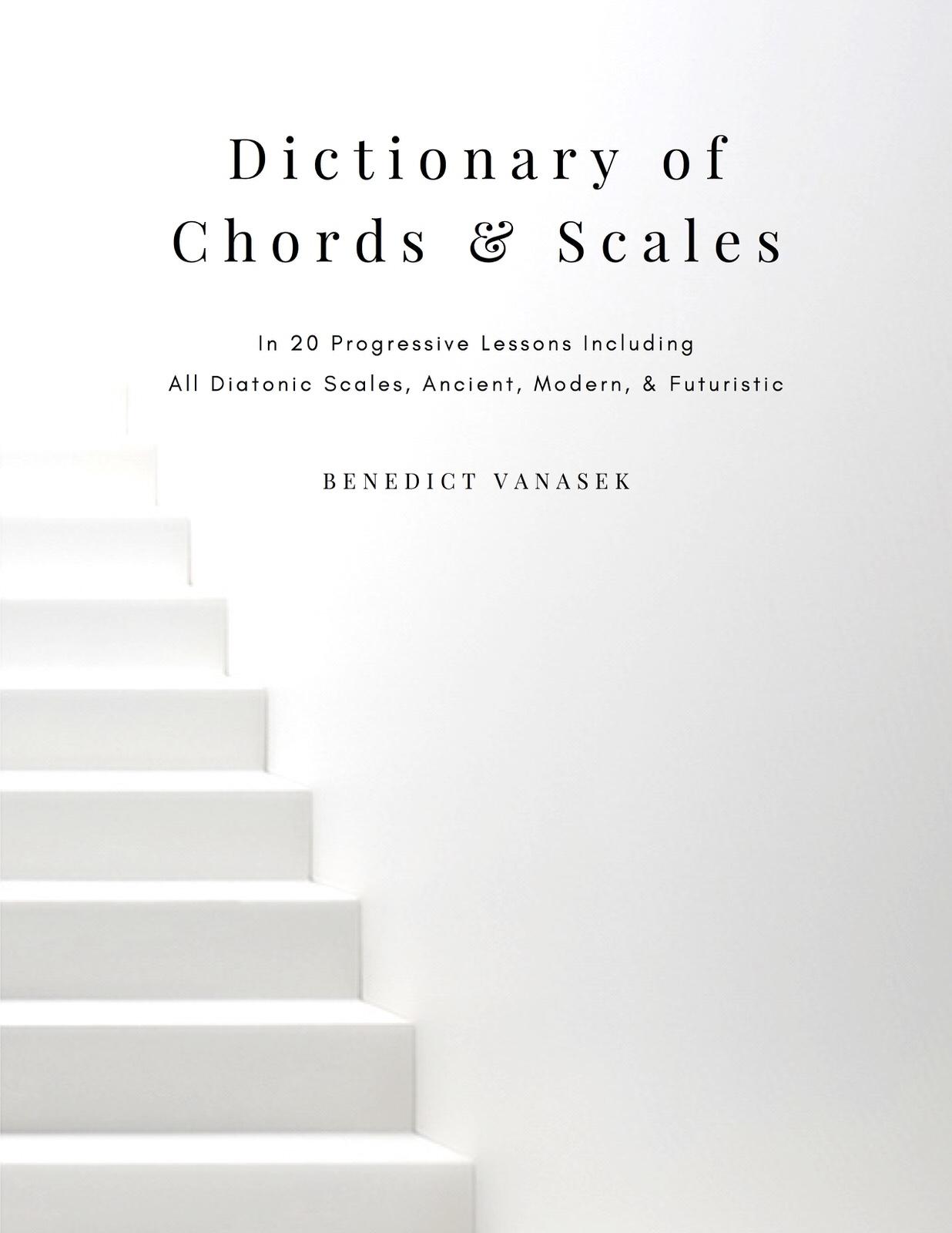 Vanasek, Dictionary of Chords & Scales in 20 Progressive Lessons-p01