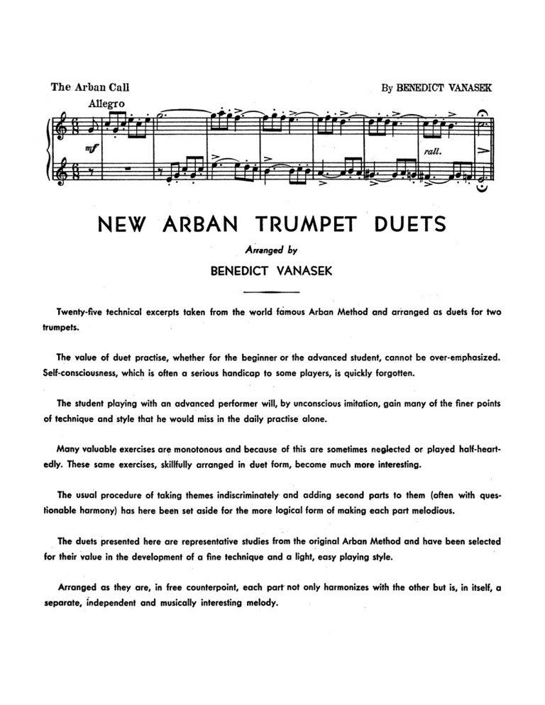 New Arban Duets