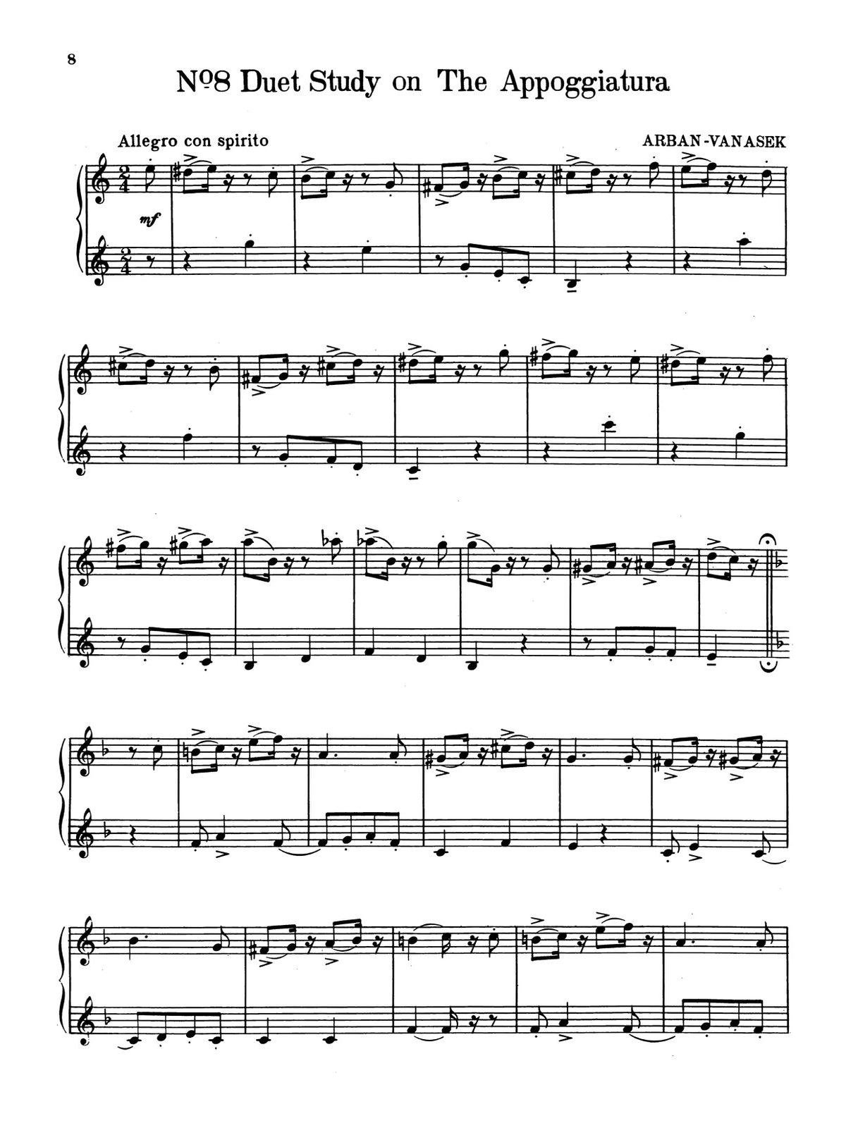 Vanasek, New Arban Duets-p10