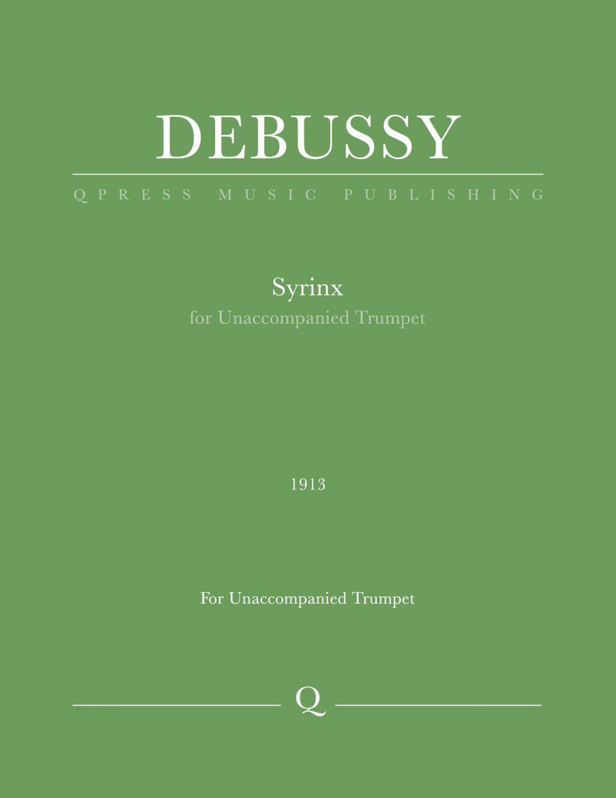 Debussy, Syrinx-p1
