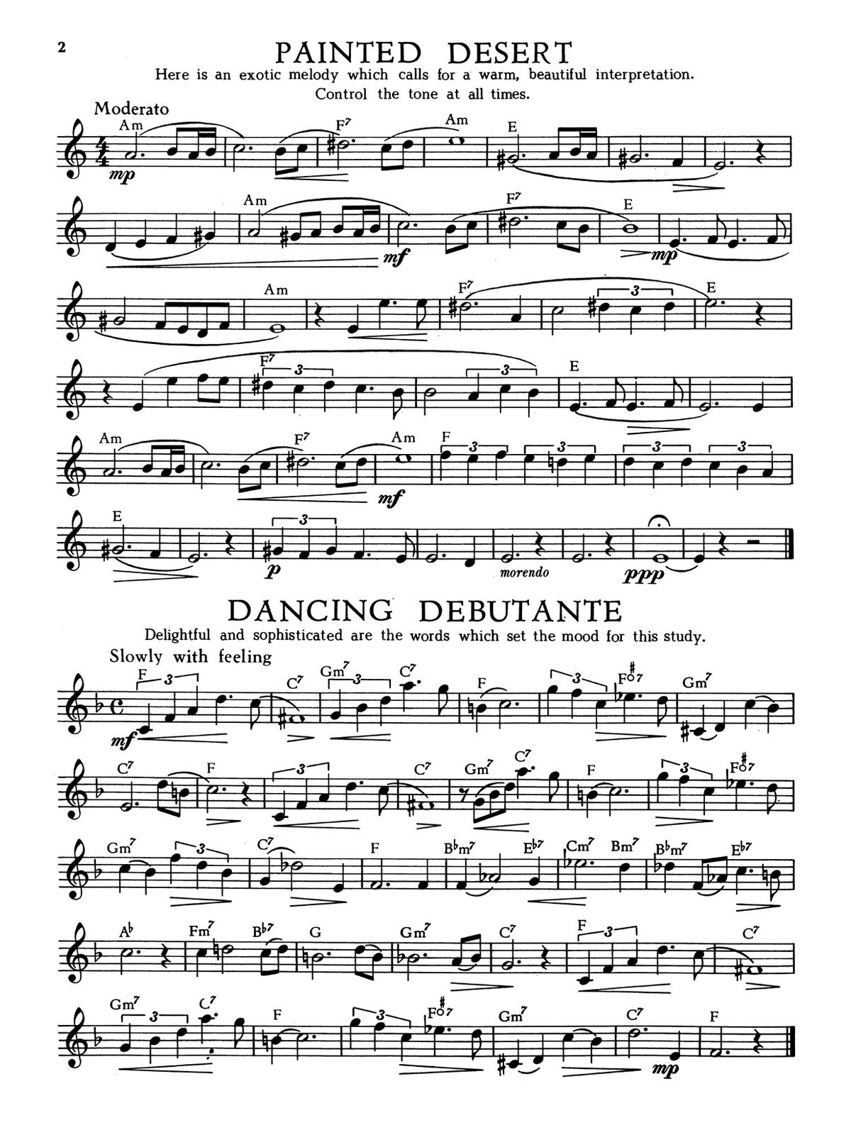 Huffnagel, Streamlined Etudes Book 2-p04