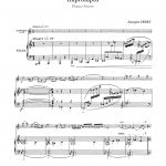 Ibert, Impromptu (Part and Score)-p5