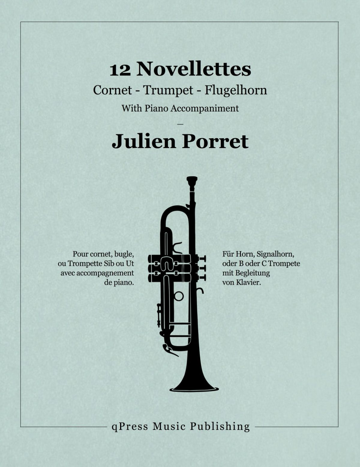 Porret, 12 Novellettes (Score and Parts)-p01