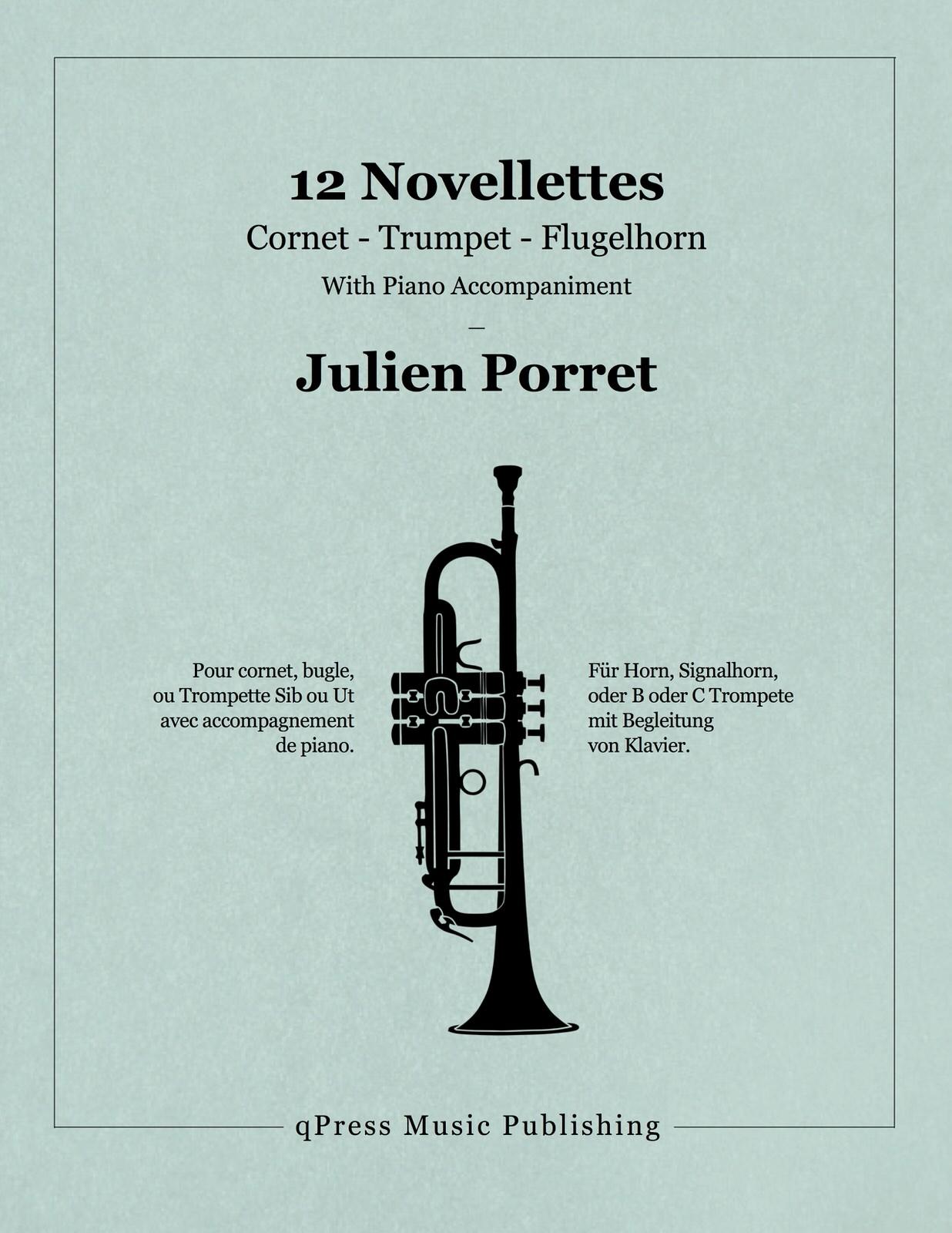 Porret, 12 Novellettes (Score and Parts)-p01