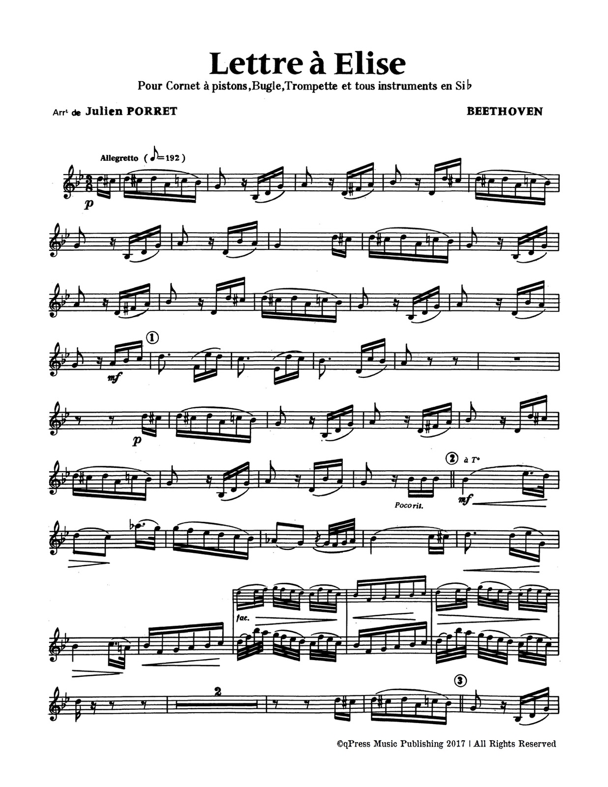 Porret, Melody Selections Volume 1-p06