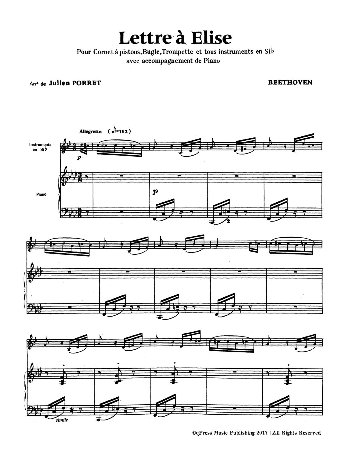Porret, Melody Selections Volume 1-p18