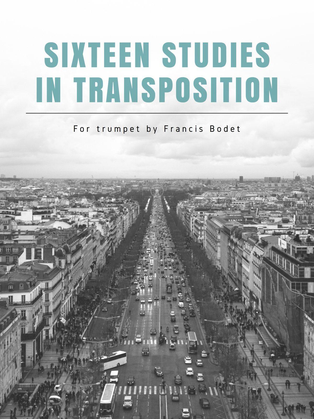 Bodet, 16 Studies in Transposition-p01