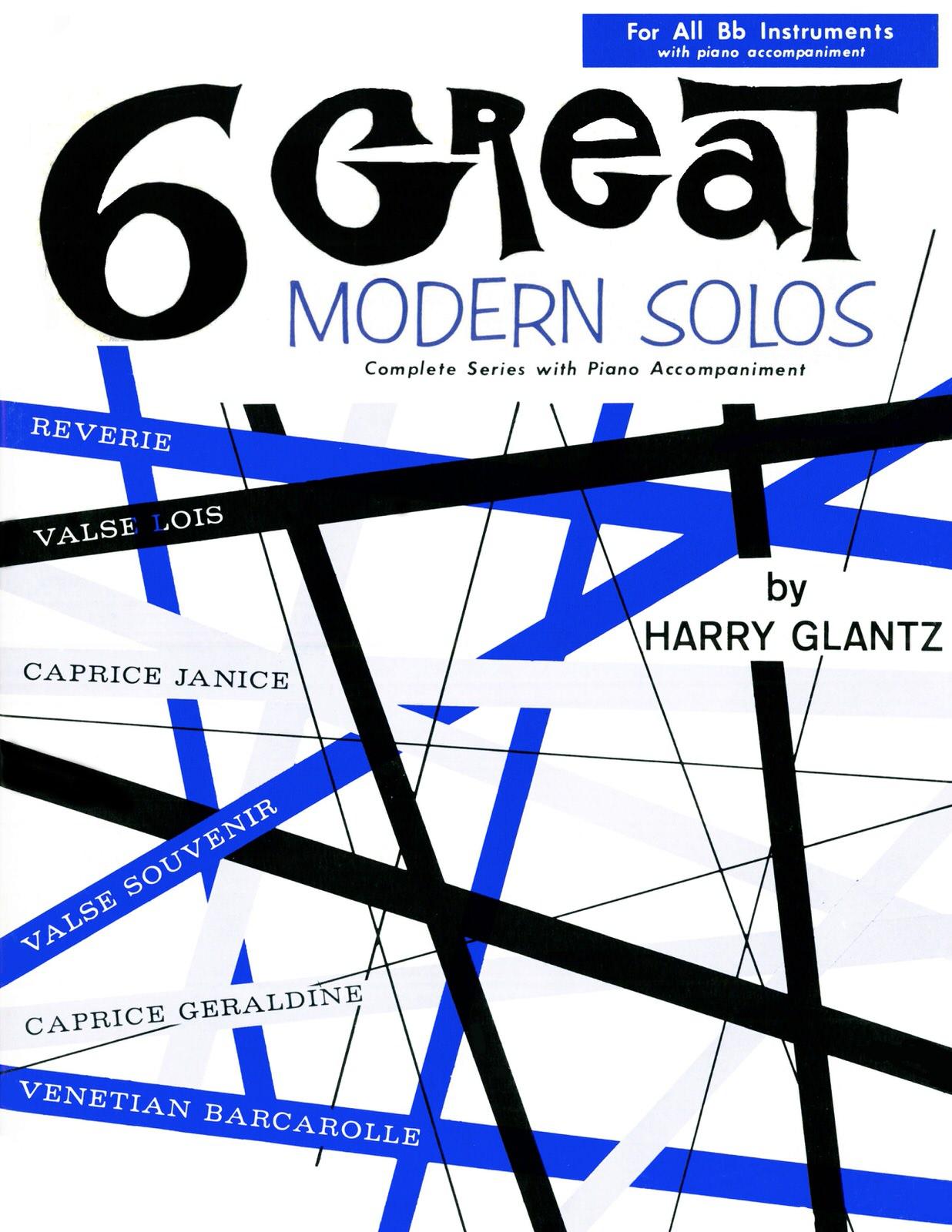 Glantz, 6 Great Modern Solos-p01