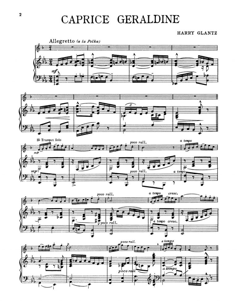 Great Modern Solos for Trumpet