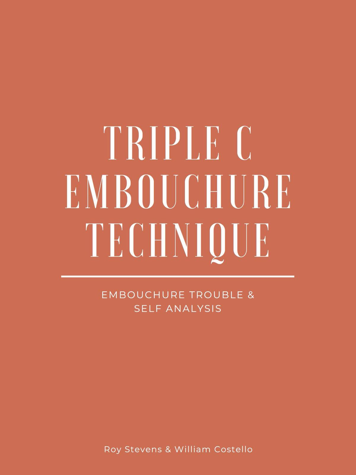 Stevens-Costello, Triple C Embouchure Technique-p001