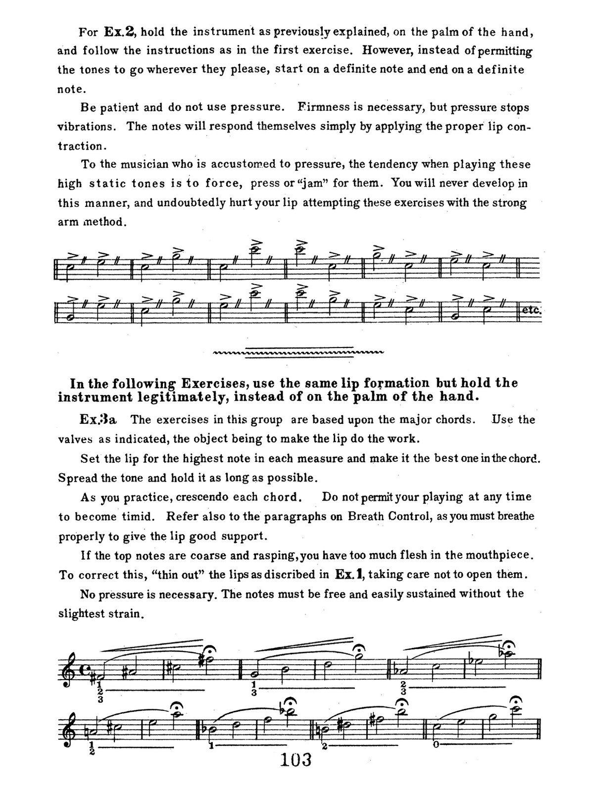 Stevens-Costello, Triple C Embouchure Technique-p117