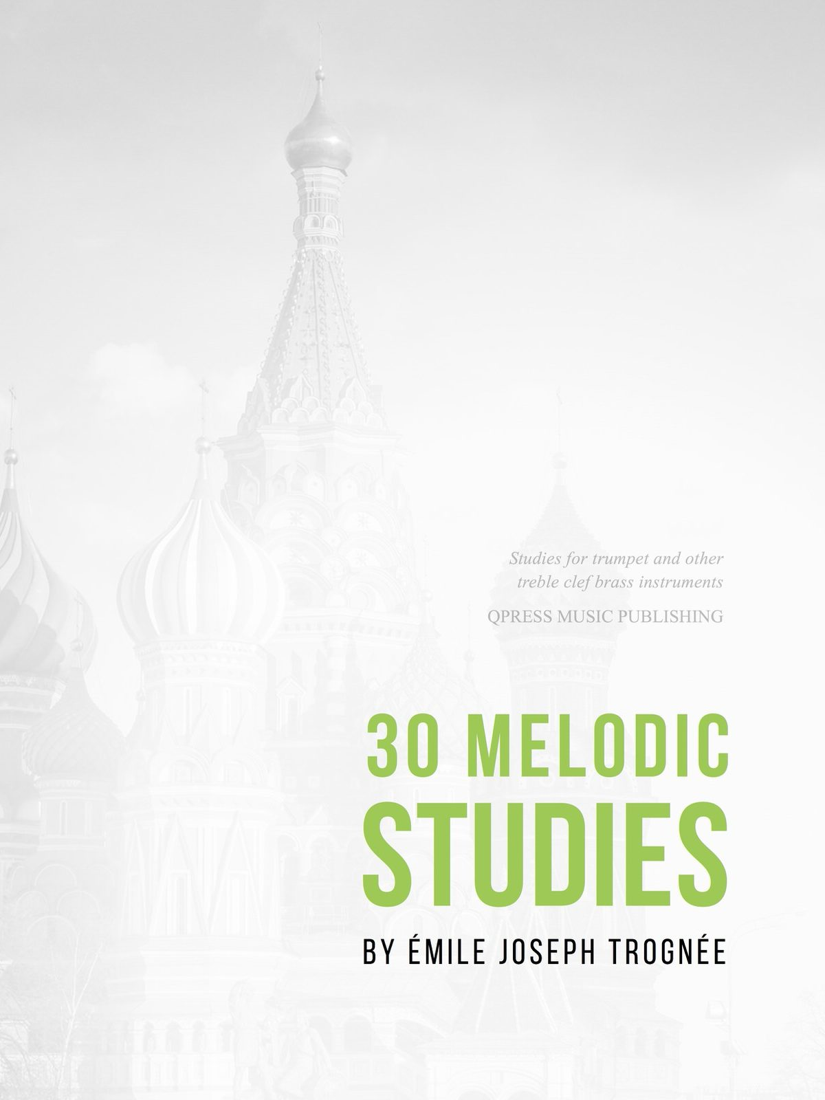 Trognee, 30 Melodic Studies-p01