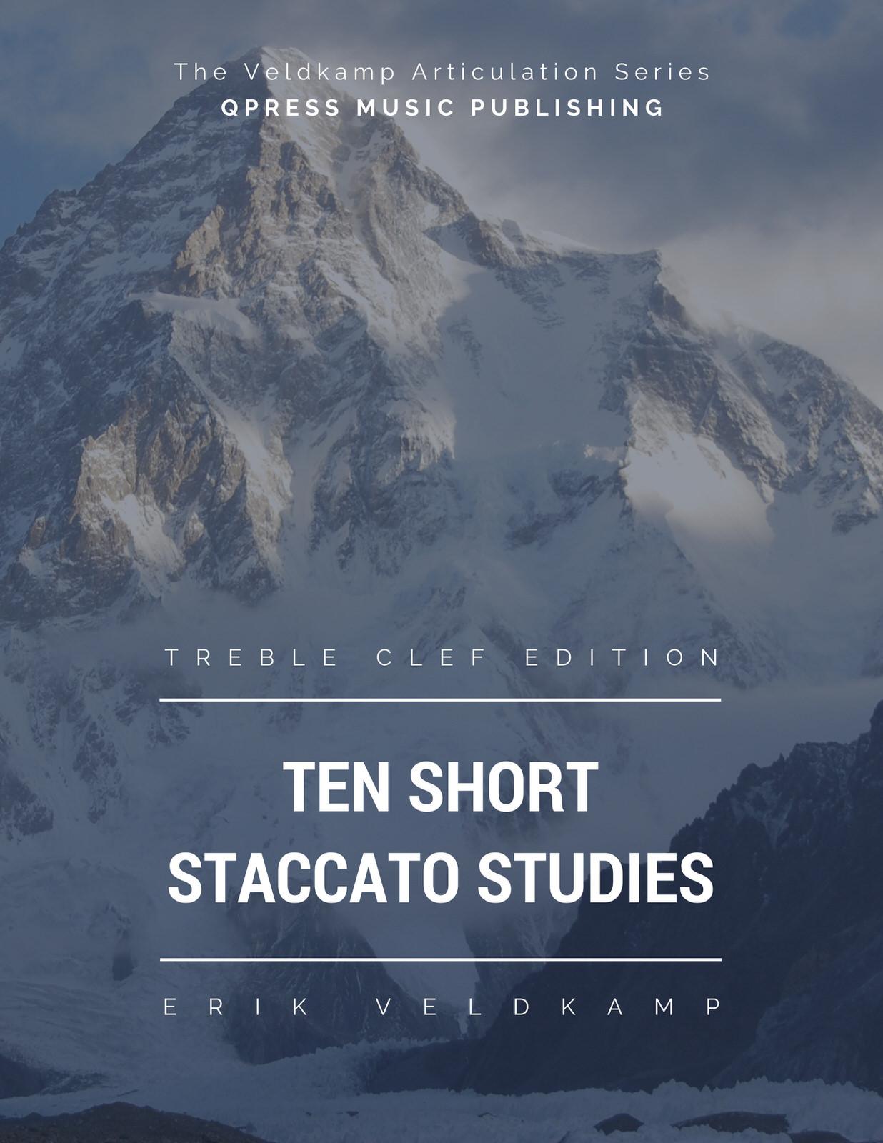 Veldkamp, 10 Short Staccato Studies