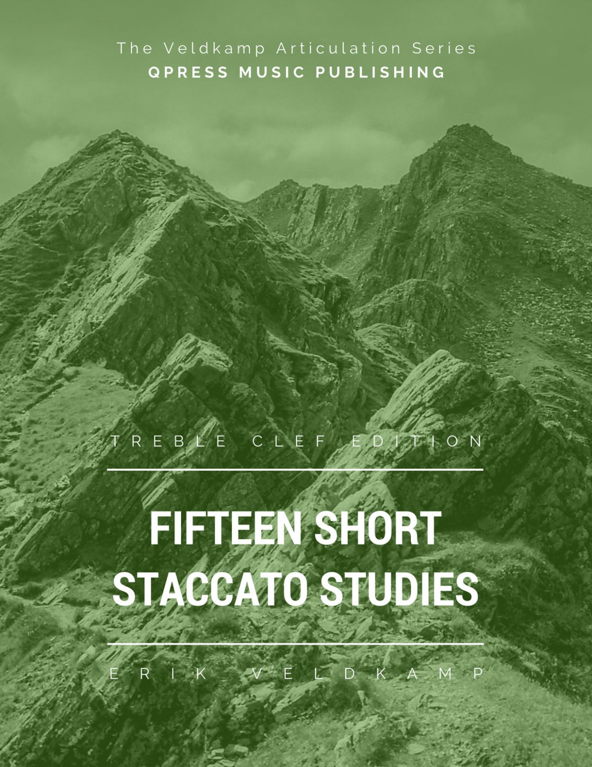 Veldkamp, 15 Short Staccato Studies