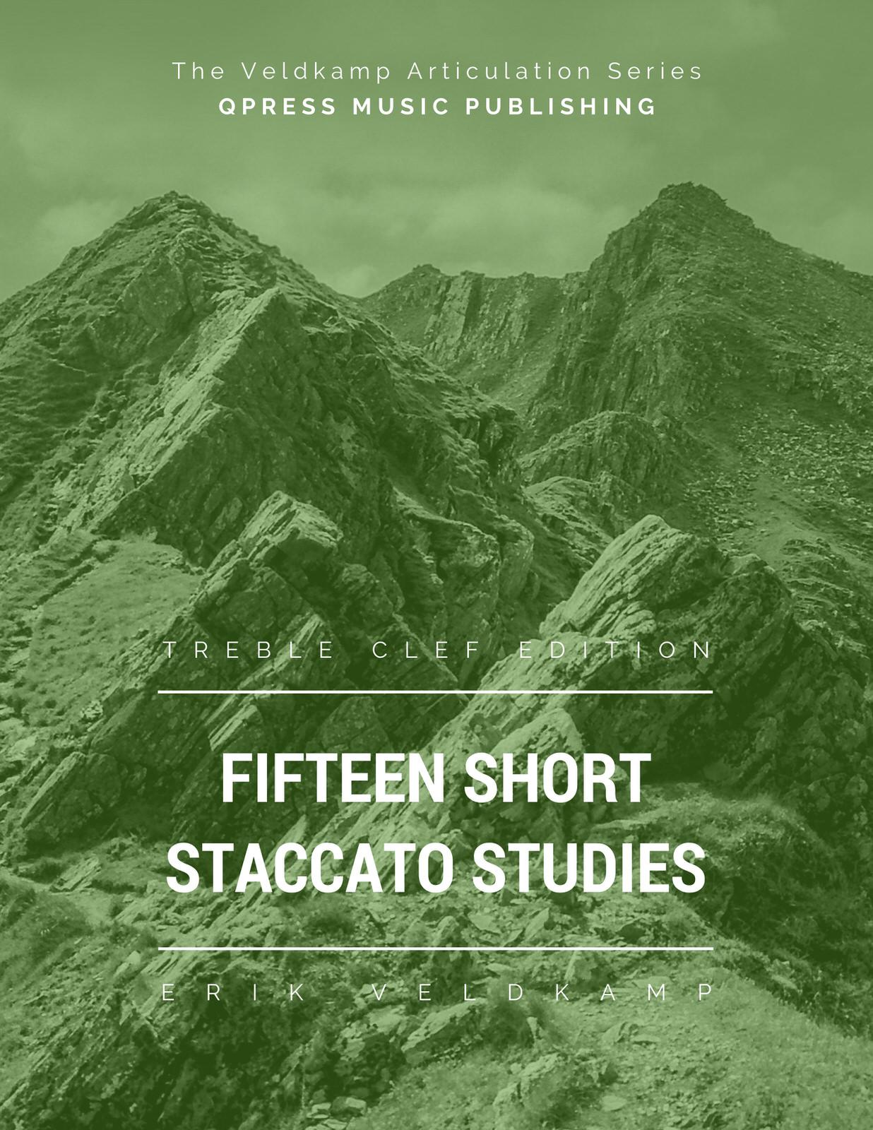 Veldkamp, 15 Short Staccato Studies