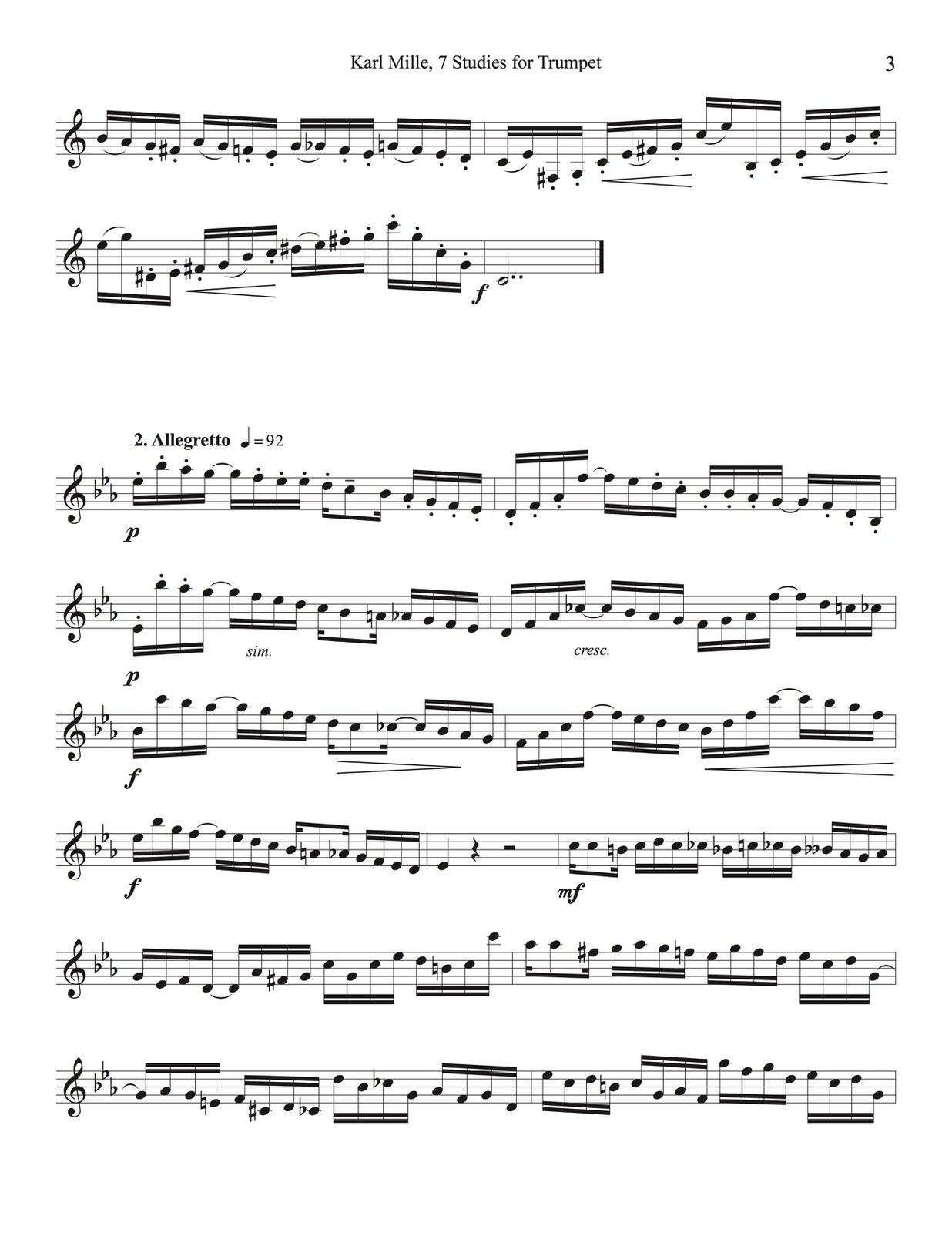Veldkamp, 7 Studies for Trumpet-p05