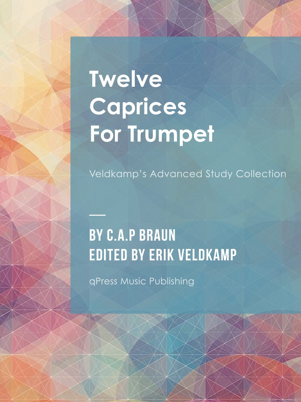 Veldkamp-Braun, 12 Caprices for Trumpet-p01
